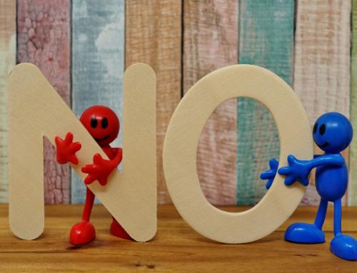 """Nej""- et livsnødvendigt ord"